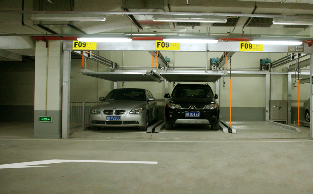 Lift&Slide (Puzzle) Parking System